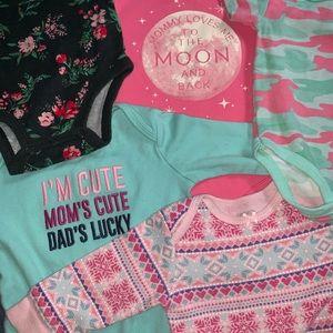 Baby Girl Bodysuits